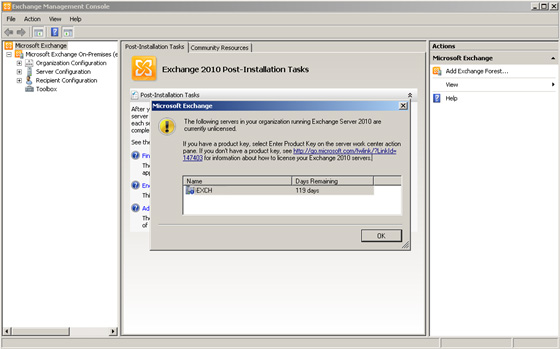 microsoft exchange 2012 installation guide