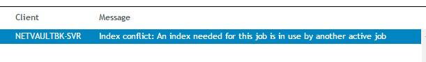 NetVault Backup Index Conflich_www.doitfixit.com (1)