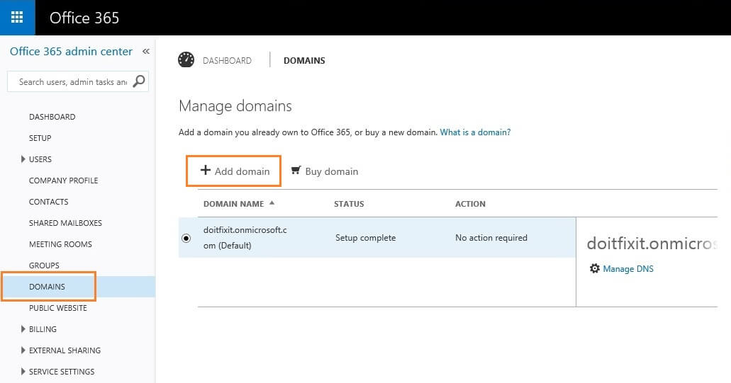 Office 365 Domain Manage Step by Step_www.doitfixit.com (02)