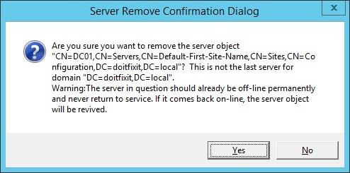 Remove Crashed Domain Using Ntdsutil_www.doitfixit.com (3)