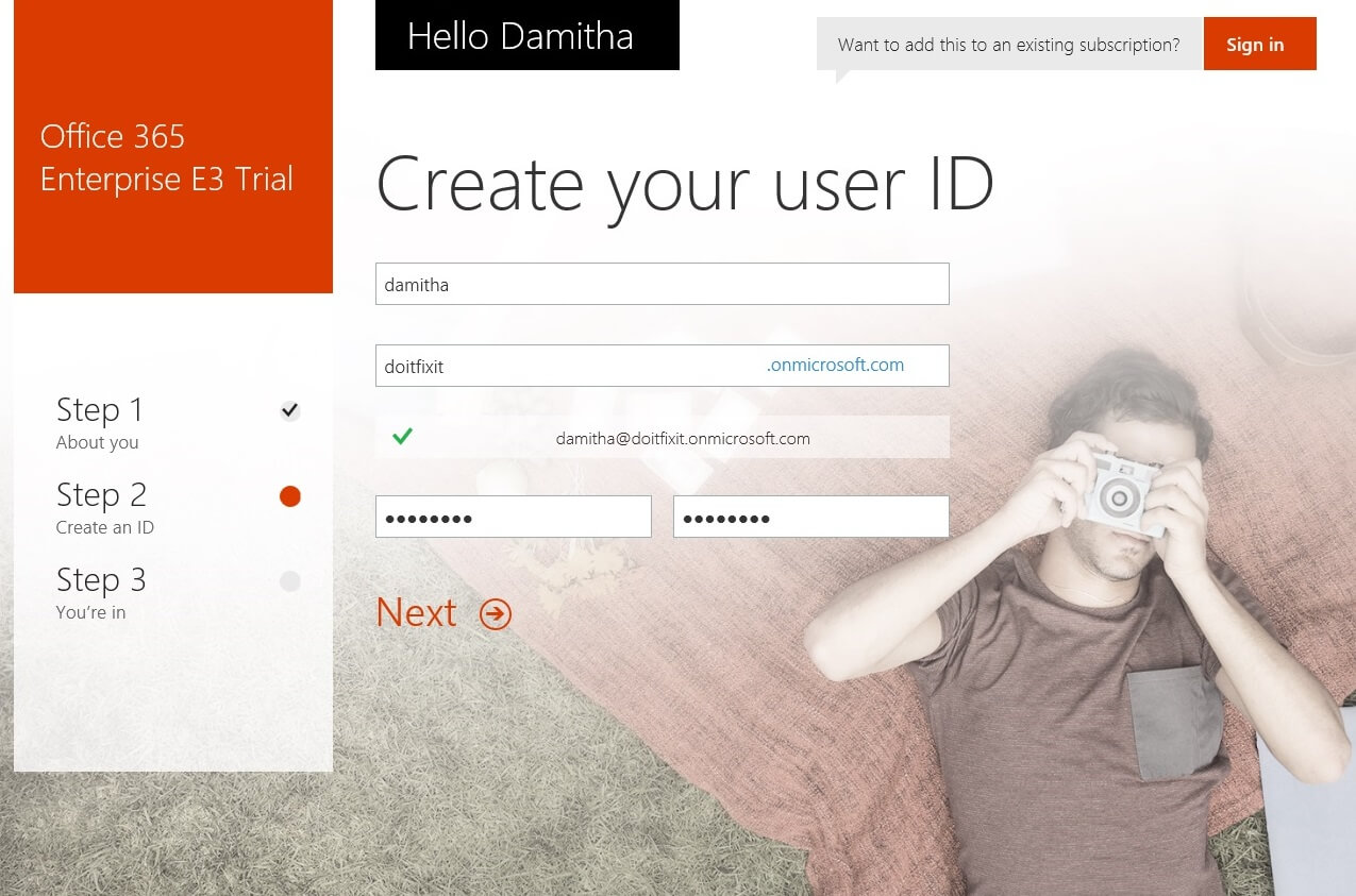 Office 365 new account signup_www.doitfixit.com (2)