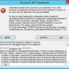 MS SQL Server unhandled exception installation error