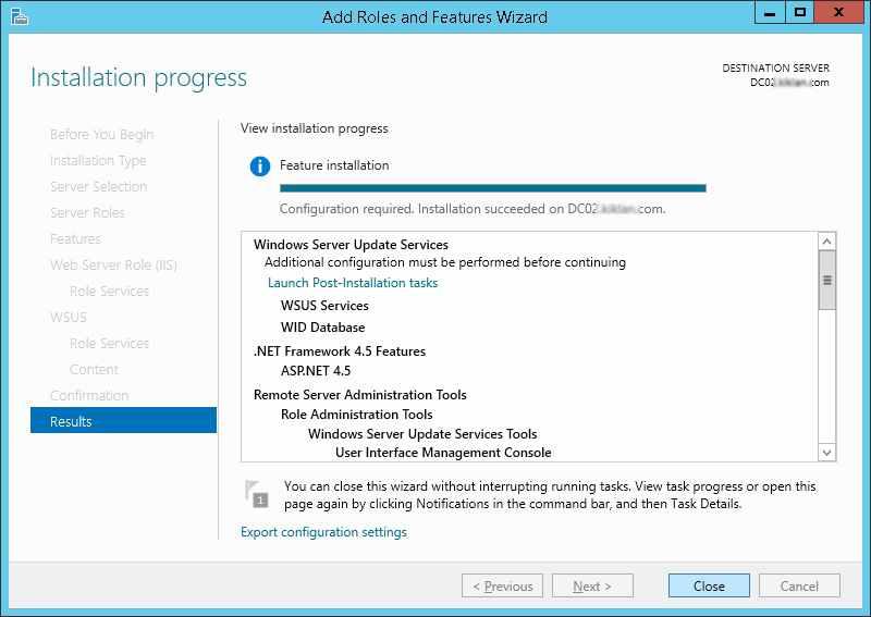 WSUS Role Installation failed.www.doitfixit.com (5)